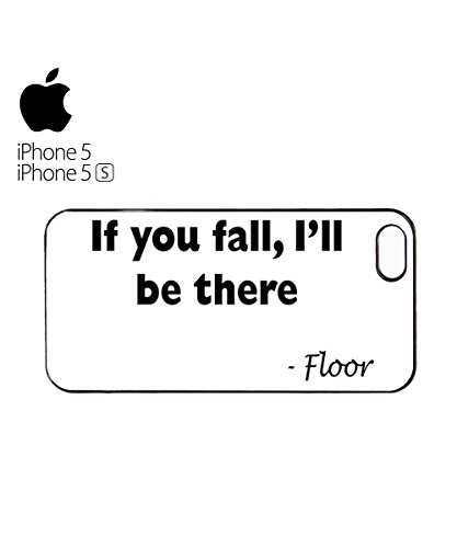 If You Fall I will Be There Floor Funny Cool Comic Droll Mobile Phone Case Cover iPhone 6 Plus + White Blanc