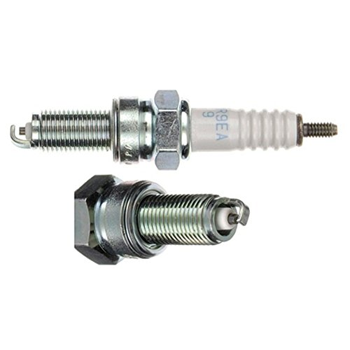 Preisvergleich Produktbild NGK Zündkerze Gruppe C Schlüsselweite 16 CPR9EA-9 silber / weiß Motorrad