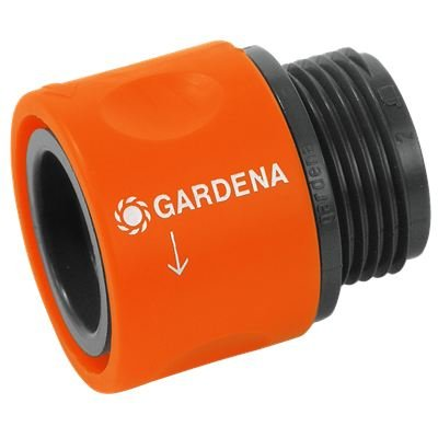 Gardena 917-26 Connector Avec un filetage de 26,5 mm (3/4 \