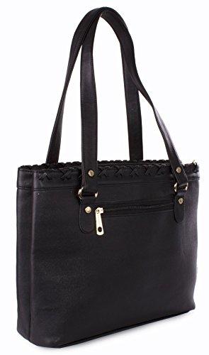 Big Handbag Shop - Borsa donna Red Deep