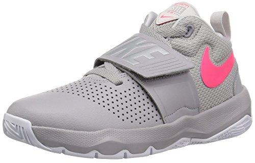 Nike Herren Team Hustle D 8 (gs) Sneakers, Mehrfarbig (Atmosphere Racer Pink-vast Grey 011), 40 EU (Basketball-schuhe 7y)