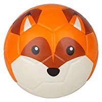 BORPEIN 6 Inches Mini Soccer,Cute Animal Design Soft Foam Ball For Kids, Soft and Bouncy,Perfect Size For Kids Playing