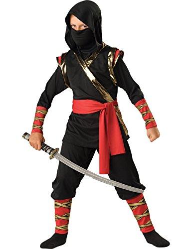 Imagen de disfraz ninja para niño premium