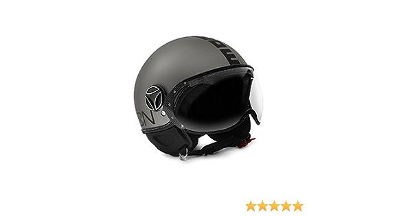 Logico Design Srl Herren Momo Helmet Grau M Auto