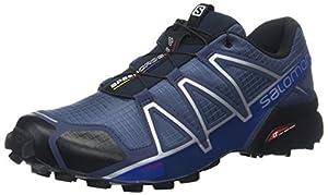 Salomon Herren Speedcross 4 Traillaufschuhe, blau (slateblue/black/blue yonder), 43 1/3 EU