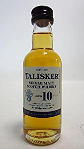 Talisker - Single Malt Scotch Miniature - 10 year old Whisky from Talisker