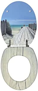 Wirquin 20719122 Trendy Line Abattant Holiday beach