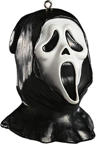 HorrorNaments Geisterkopf Horror-Ornament - Gruselige Requisite und Dekoration für Halloween, Weihnachten, Partys und Veranstaltungen