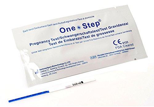 25 x Schwangerschaftstest One+Step - Ultrafrühtest 10 miu/ml