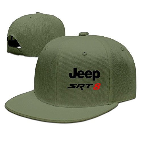 Hittings Jeep Srt 8 Cool Flat Baseball Caps ForestGreen