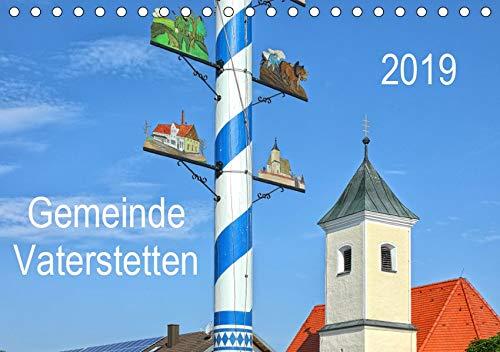Gemeinde Vaterstetten (Tischkalender 2019 DIN A5 quer): Die Vielfalt der Gemeinde Vaterstetten wird durch wunderschöne Bilder aus allen Jahreszeiten ... (Monatskalender, 14 Seiten ) (CALVENDO Orte)