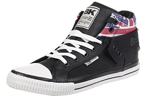 British Knights ROCO BK Sneaker B41-3706-04 England Flagge Black, Schuhgröße:38 EU