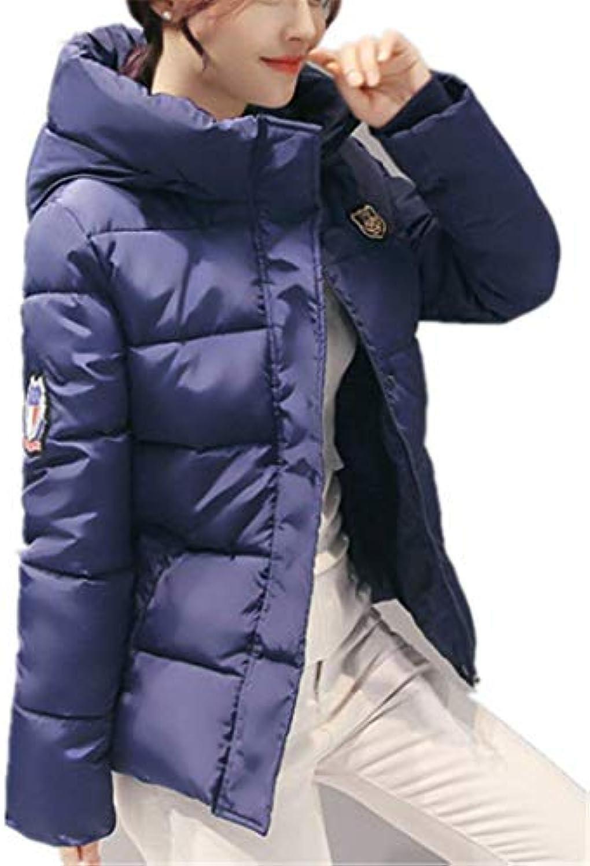 Piumino Parka Donna Addensare Caldo Parka Piumino Invernale Corto Giorno  Moda Tempo Libero Mode di Marca Taglie Forti Piumini... 1d114e a85b652e7a2