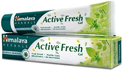 Himalaya Herbals Active Fresh Gel, 80g (pack of 4)