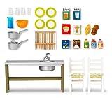 Lundby 83.2004.00 - Gotland: Set cucina (Mobili per casa delle bambole)