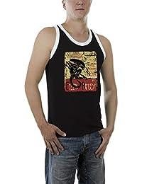 Touchlines Men's Ellen Ripley Aliens Kontrast T-Shirt