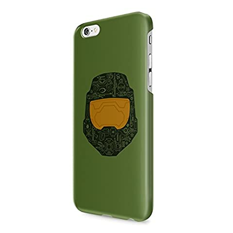 Master Chief Halo Hard Snap-On Protective Case Cover For Iphone