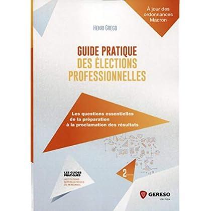 Guide pratique des élections professionnelles: Les questions essentielles de la préparation à la proclamation des résultats