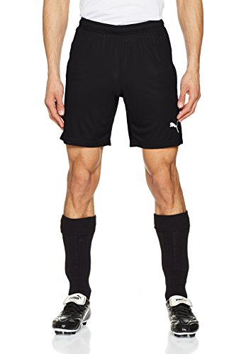 Puma Herren Liga Core Shorts, Black White, L