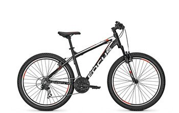 FOCUS RAVEN ROOKIE MOUNTAIN BIKE 26 RH 55 CM BLACK MATE