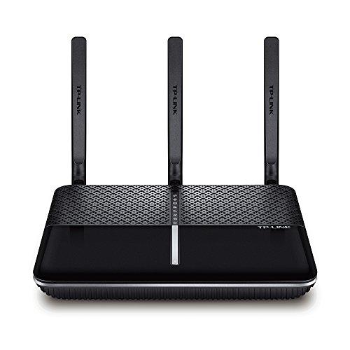 TP-Link AC1600 Wireless Dual Band Gigabit VDSL/ADSL Modem Router für Telefonanschlüsse (BT Infinity, TalkTalk, EE und PlusNet Fibre) 2 USB 2.0 Ports, UK-Stecker (Archer VR600) (Breitband-modem Wlan -)