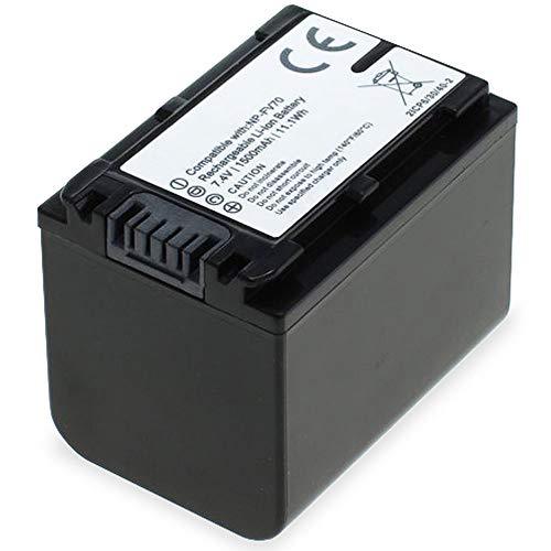 subtel® Batteria Compatibile con Sony FDR-AX53 FDR-AX700 FDR-AX100 HXR-NX80 HDR-CX625 HDR-CX450...
