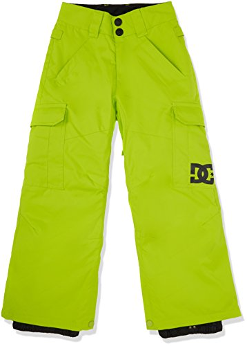 DC Shoes-Banshee Youth-Pantaloni da neve, da uomo, colore: giallo, taglia: s