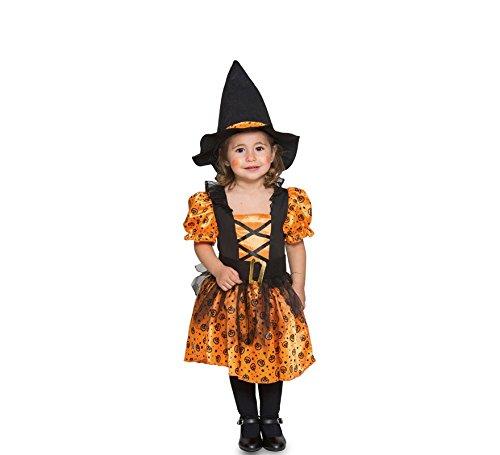 Fyasa 706370-tbb Hexe Kostüm, orange, klein