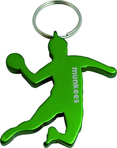 munkees Schlüsselanhänger Handballer, Handballspieler mit Flaschenöffner, Überraschungsfarbe, 3498
