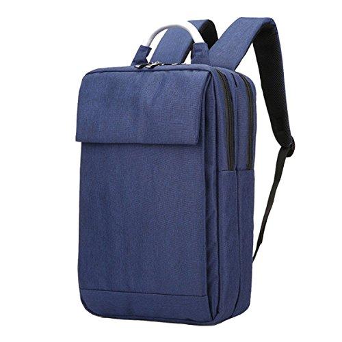 Business-Tasche Schultertasche Rucksack Tasche Tasche Tasche Computer Tasche Freizeit Einfache Wilde Atmosphäre Blue