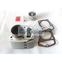 yunshuo 56,5mm orificio de cilindro pistón juntas Honda CB125cl XL 125124CM3Motor 125cc