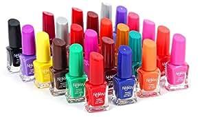 Foolzy® Pack of 24 Nail Paint Polish (FOO-NP-TP11)