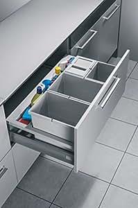 Hailo separato xS-k 44 m/inset 90.4 pour armoires de largeur de tiroir 900 mm de migration