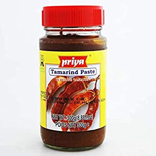 Priya Tamarind Paste for Thai Noodles and Indian Chicken Dishes - 300g Jar