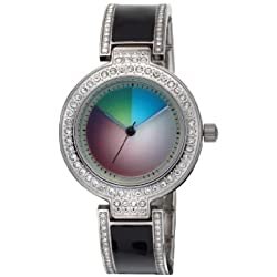 Rainbow e-motion of color Women's Quartz Watch Lilly change LI60-NO-ch with Metal Strap