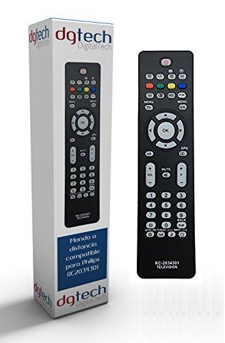 DigitalTech® - Mando de sustitución televisores Philips RC2034301/01
