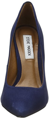 Steve Madden FootwearPrimpy Pump - Scarpe con Tacco Donna Blu (Navy)