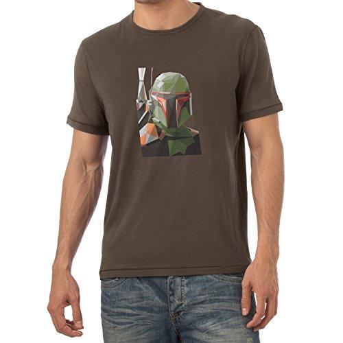 TEXLAB - Poly Bounty Hunter - Herren T-Shirt Braun