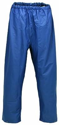 PU Regenbundhose 6051-0-700-L Regenhose, PU auf Nylon Trägermaterial, Größe L, Farbe: marine