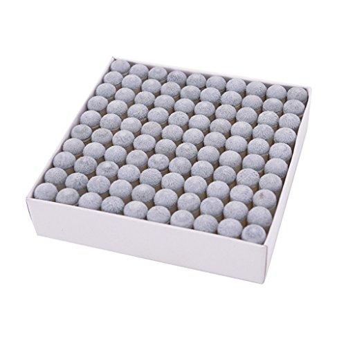 Baoblade 100 x Pool Cue Tip Tool Queue Tipp Shaper - 10 mm