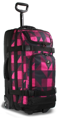 j-world-new-york-vinewood-rolling-duffel-block-pink-one-size