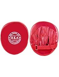 tampon de Formation de Boxe - TOOGOO(R)gants pour la Formation de Boxe tampon de Formation de Boxe Karate Muay Thai Kick rouge
