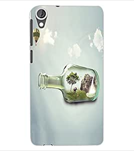 ColourCraft Creative Image Design Back Case Cover for HTC DESIRE 820