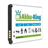 Akku-King Akku für LG G3, D830, D850 LTE, D851, D855 LTE, D855AR D855K D855P, LS990 LTE, VS985 - ersetzt BL-53YH, EAC62378905, EAC62378901 - Li-Ion 3000mAh