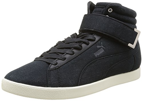 Puma Modern Court Hi 358607, Baskets mode homme Noir (Black)