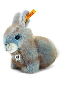 Steiff 80074 - Peluche de Conejo Color Gris Azulado de 14 cm