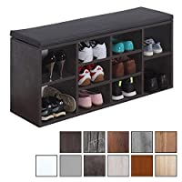 RICOO Shoe rack with seating surface WM033
