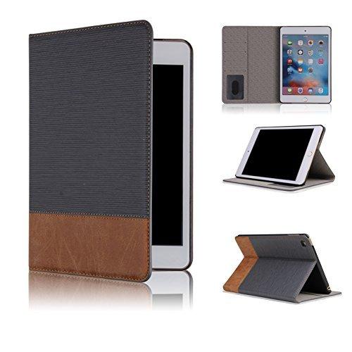 Qinda Luxury Leather Smart Flip Case cover for Apple iPad Mini 1/2/3...