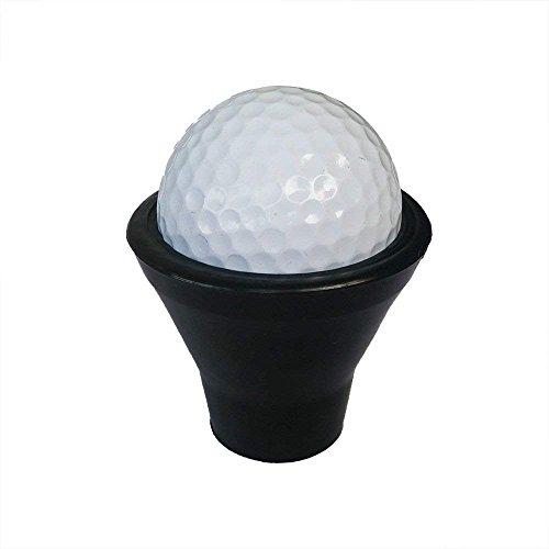 MA87 Golfbälll Abholung Retriever Putter Grip Finger Gummi Picker Pick Up Tool Schwarz -