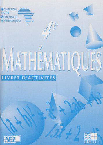 Mathématiques 4e, cahier d'activités